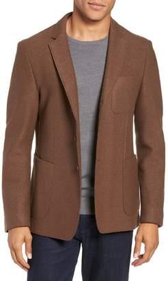 BOSS Nixan Trim Fit Wool Blazer
