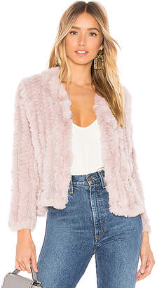Heartloom Rosa Fur Jacket