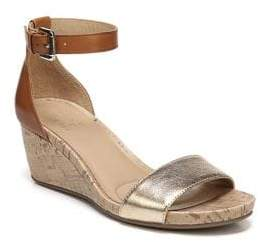 Naturalizer Cami Leather Ankle-Strap Sandals