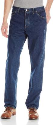 Dickies Men's Relaxed Fit 5-Pocket Washed Jean