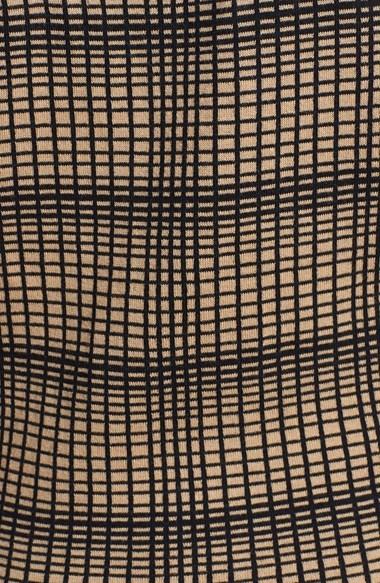 Vince Camuto Plaid Jacquard Sleeveless Sweater