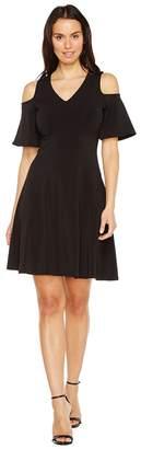Karen Kane Cold Shoulder Travel Dress Women's Dress