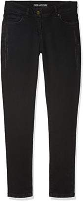 Zadig & Voltaire ZADIG&VOLTAIRE Girl's Pantalon Denim Trousers,(Manufacturer Size: 05A)
