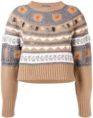 Alberta Ferretti patterned jumper
