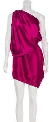 Lanvin Mini Silk Dress