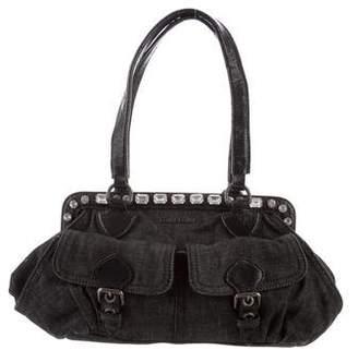 Miu Miu Denim Shoulder Bag