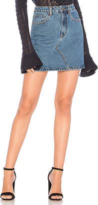MinkPink Roller Studded Mini Skirt.