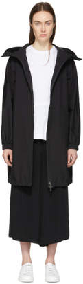 Herno Black Gore-Tex® Long Anorak Coat