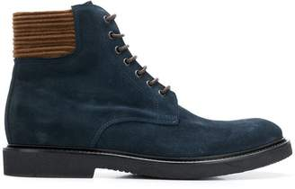 Eleventy lace up boots