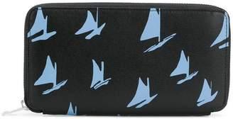 Marni printed zipped wallet