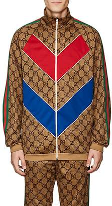 Gucci Men's GG Supreme Oversized Track Jacket