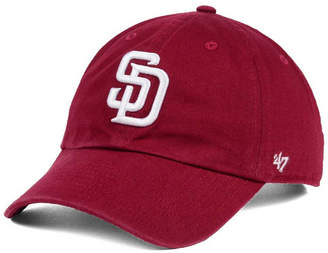 '47 San Diego Padres Cardinal and White Clean Up Cap