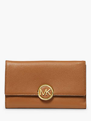 Michael Kors MICHAEL Lillie Leather Carryall Purse, Acorn