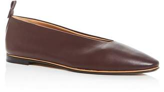 Bottega Veneta Women's Almond-Toe Flats