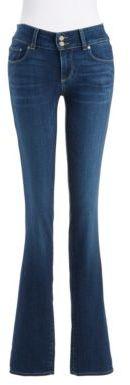 Paige Hidden Hills Straight Legged Jeans