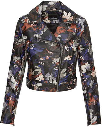 Sam Edelman Cropped Printed Jacket