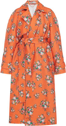 Emilia Wickstead Yves Floral Trench Coat