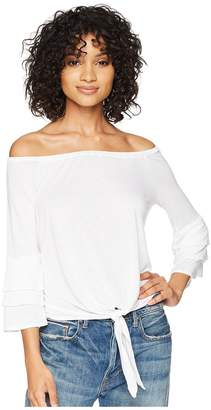 Amuse Society Bonjour Summer Knit Top Women's Clothing