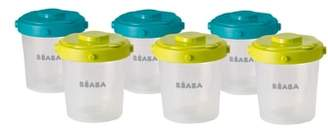 Beaba 6-Pack Clip Portion Containers