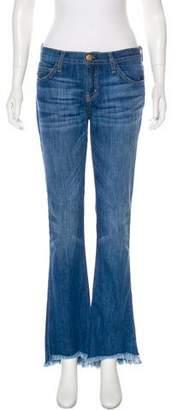 Current/Elliott Mid-Rise Wide-Leg Jeans