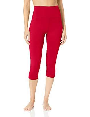"Core 10 Women's All Day Comfort High Waist Capri Yoga Legging - 22"""