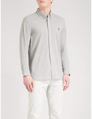 Polo Ralph Lauren Regular-fit cotton-mesh shirt