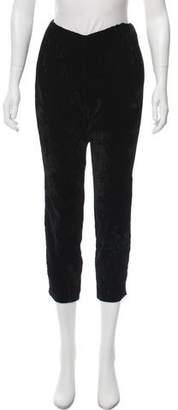Nili Lotan Velvet Cropped Pants w/ Tags