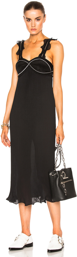3.1 Phillip Lim 3.1 phillip lim Sleeveless Pleated Ruffle Dress