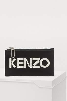 Kenzo Logo card holder