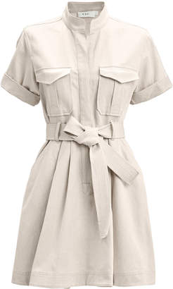 A.L.C. Bryn Cotton-Linen Shirt Dress