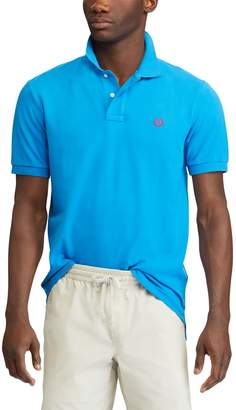 Chaps Big & Tall Classic-Fit Pique Mesh Stretch Polo