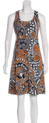 Tory Burch Sleeveless Knee-Length Dress