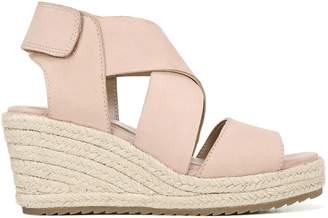 Naturalizer Oshay Leather Espadrille Sandals