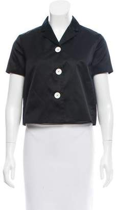 Rochas Silk-Blend Satin Jacket