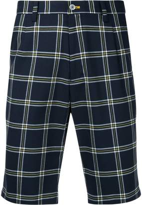 GUILD PRIME nautical checked shorts