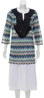 Calypso Long Sleeve Knit Tunic