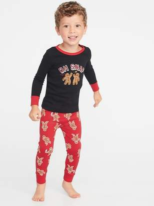 Old Navy Holiday-Graphic Sleep Set for Toddler & Baby