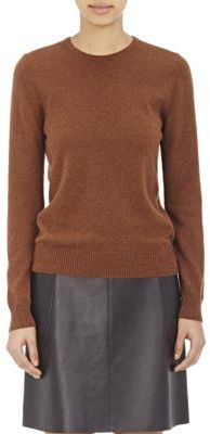 Barneys New York Women's Cashmere Sweater-BROWN $425 thestylecure.com