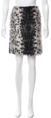 Reed Krakoff Textured Mini Skirt