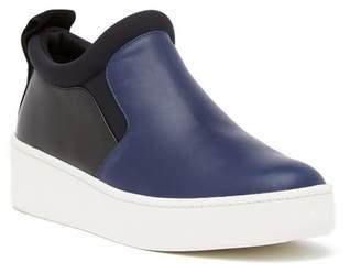 Via Spiga Ellis Leather Slip-On Sneaker