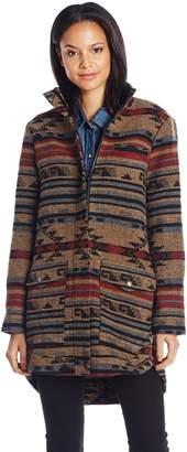 Jack by BB Dakota Women's Hierro Jacquard Patter Coat