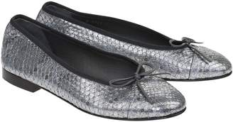 Chanel Exotic leathers flats