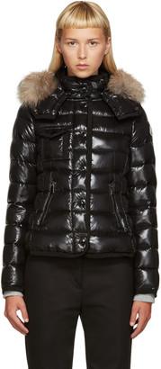 Moncler Black Down Short Armoise Jacket $1,595 thestylecure.com