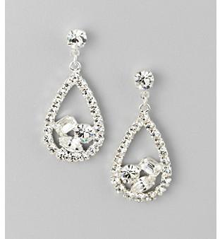 BTJeweled BT-Jeweled Crystal Earrings