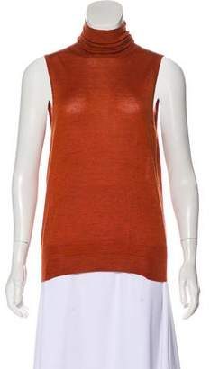 Etro Cashmere-Blend Turtleneck Sweater