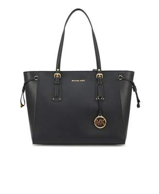 Michael Kors Voyager East West Top Zip Leather Tote