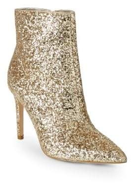 Saks Fifth Avenue Harmony Metallic Sparkle Booties