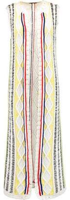 Alice + Olivia Rudy Cable-Knit Cotton-Blend Vest