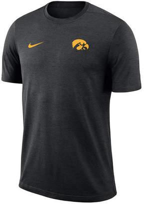 Nike Men's Iowa Hawkeyes Dri-Fit Coaches T-Shirt