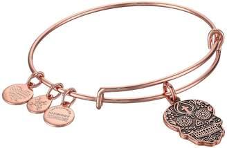 Alex and Ani Color Infusion Calavera Bangle Bracelet